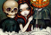 Blue Angel Publishing – Jasmine Becket-Griffith Halloween Coloring Book – jasmine becket-griffith coloring book a fantasy art adventure