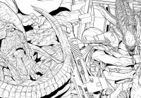 Book Review: 'Alien: The Coloring Book' – ScienceFiction