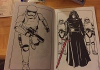 Bought a STAR WARS coloring book