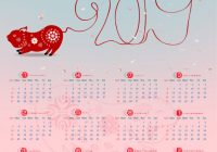 Calendar 15 and happy new year background Vector Image – New Year Calendar 2019