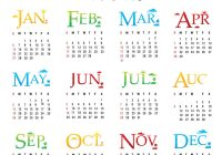 Calendar For Next Year 2019 With New Pinterest
