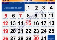 Calendar For Year 2019 India With MAY CALENDAR INDIA HOLIDAYS GUJARATI FESTIVALS