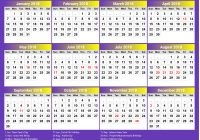 Calendar For Year 2019 Uae With 2018 Printable