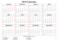Calendar For Year 2019 Uk With Free Yearly Federal Holidays UK Public 2018
