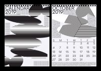 Calendar For Year 2019 United States With CALENDAR On Behance
