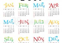 Calendar Planner Happy New Year 20 Greeting Card Text Typography ..