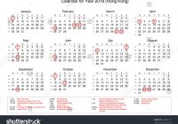 Chinese New Year 2019 Calendar Taiwan With 2018 Public Holidays Bank Stock Illustration 763683217