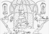 Christmas Adults Coloring Pages With Adult Home Collection