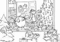 Christmas Adults Coloring Pages With Color Free Printable
