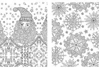 Christmas Adults Coloring Pages With Free For Lovely Adult