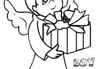 Christmas Angel Coloring Pages With Alic E Me