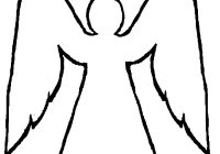 Christmas Angel Coloring Pages With Free Pictures Download Clip Art