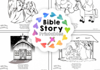 Christmas Bible Coloring Pages – Bible Story Printables – Free Printable Bible Christmas Coloring Pages