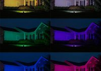 Christmas Colored Flood Lights With 30W Color Changing Wi Fi LED Light RGB White 760 Lumens