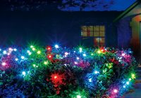 Christmas Colored Lights With Illuminations 48 In X 100 Light RGB LED Color Blast Remote