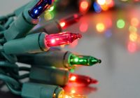 Christmas Colored Lights With Multi Color Miniature String