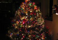 Christmas Colored Lights With We Do A Mix Of White And On Our Tree Set It Up So