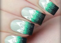 Christmas Colored Nails With 40 Festive Nail Art Ideas Easy Designs For Holiday