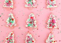 Christmas Colored Nonpareils With CHRISTMAS TREE SPRINKLE COOKIES Layer Cake Shop