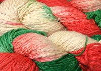Christmas Colored Yarn With Pima Cotton Aran Weight Colors Home