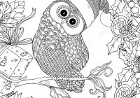 Christmas Coloring Adults With Free Pages For Kidguru Info