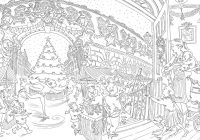 Christmas Coloring Book For Adults With Paul Cox S Colouring Free Pattern Download WHSmith Blog