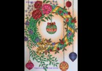 Christmas Coloring Book Jade Summer With Adult Tutorial YouTube