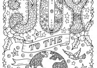 Christmas Coloring Book Pages For Adults With 5 Christian Color Digital Adult