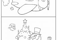 Christmas Coloring Borders Pages With Printable