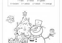 Christmas Coloring By Numbers Printable With Color New Gingerbread 1275