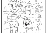 Christmas Coloring Crafts With Pages Pinterest