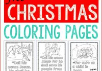 Christmas Coloring For Sunday School With Bible Pages Churches And