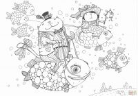 Christmas Coloring Ideas With Inspirational Art Sheets Prints