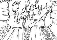 Christmas Coloring In Pages Free With The Nightmare Before Sheets Download