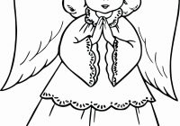 Christmas Coloring Ks2 With Pictures Of Angels Beautiful Pages