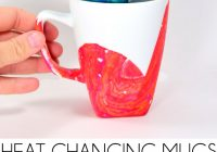 Christmas Coloring Mugs With Color Changing Design Disappears Heat Dream A Little