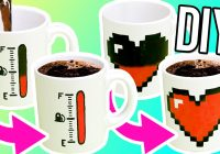 Christmas Coloring Mugs With DIY COLOR CHANGING MUGS Make Magic For Gifts YouTube