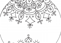 Christmas Coloring Ornaments Printable With Pages For Kids Ornament