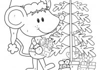 Christmas Coloring Pages Addition With CHRISTMAS Color By Numbers Printables Math