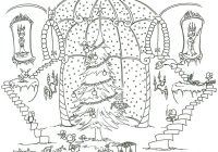 Christmas Coloring Pages Adults With Unique Of Detailed For Image