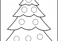 Christmas Coloring Pages Big With Trees Refrence