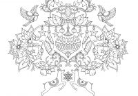 Christmas Coloring Pages Booklet With Johanna S A Festive Colouring Book Books