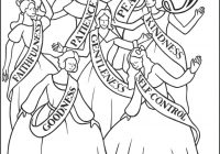 Christmas Coloring Pages Catholic With Ninth Day Of Ladies Dancing Page