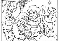 Christmas Coloring Pages Christian With Free