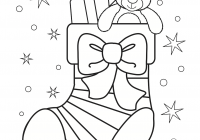 Christmas Coloring Pages Cookies With