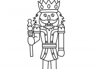 Christmas Coloring Pages Crafts With Nutcracker Free Printable For Kids