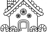 Christmas coloring pages disney gingerbread house Luxury Coloring ..