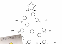 Christmas Coloring Pages Dot To With Click On Image Download And Print Tree Page