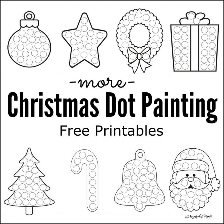 Permalink to Christmas Coloring Pages Dot To Dot