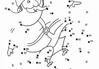 Christmas Coloring Pages Dot To With Snowy Santa Fun Connect The Dots See What Thing